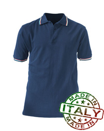 polo professionale tricolore made in italy